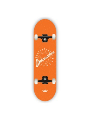 Skateboard Ambassadors Spin orange 8.0 MC