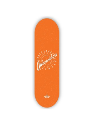 Skate deska Ambassadors Spin orange 8.25 MC