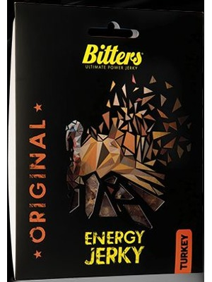 Bitters Energy Jerky Turkey original