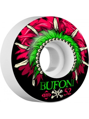 Kolečka Bones STF Pro Head dress 52 mm V1