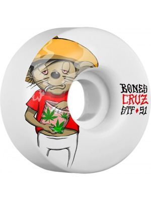 Kolečka Bones STF Cruz weedy 51 mm V2