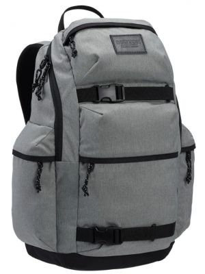 Batoh Burton Kilo grey heather 27l