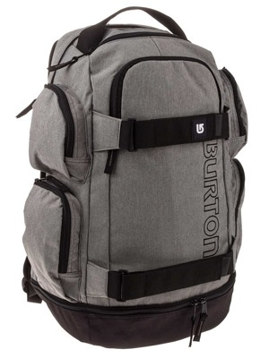 Batoh Burton Distortion grey heather 29l