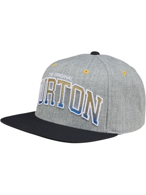Kšiltovka Burton Lexington heather grey LA