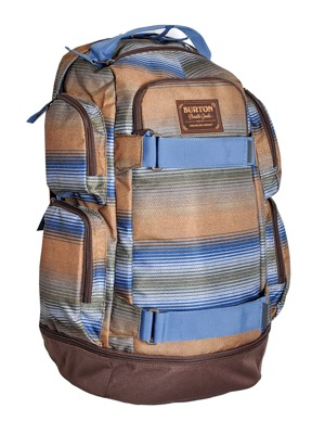 Batoh Burton Distortion beach stripe print 35l