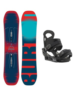 Snowboard set Burton Process Smalls