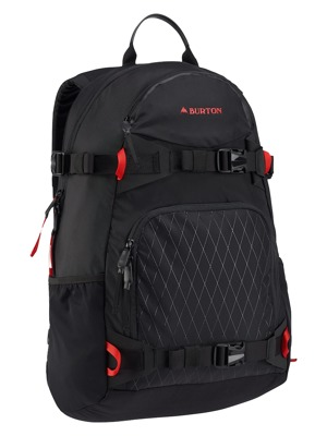 Batoh Burton Riders true black 25l