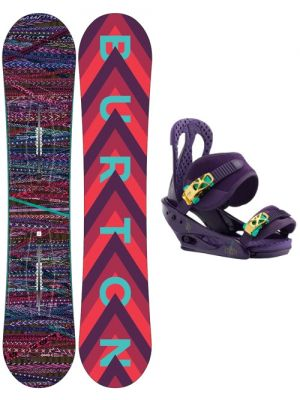 Dámský snowboard set Burton Feather 17/18