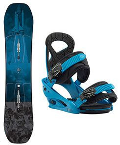 Snowboard set Burton Process Smalls 17/18