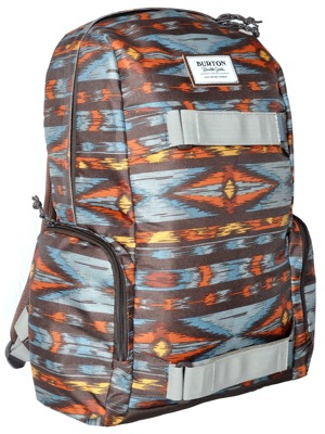 Batoh Burton Emphasis painted ikat print 26l