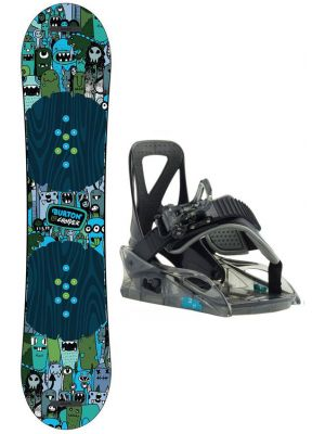 Snowboard set Burton Chopper 19/20