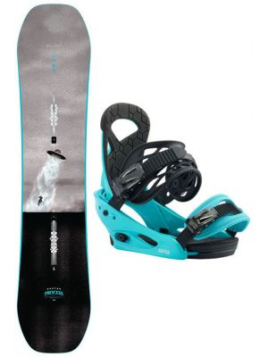 Snowboard set Burton Process smalls 19/20
