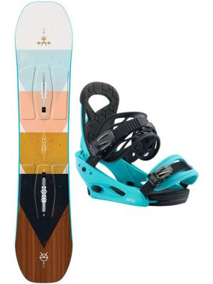 Snowboard set Burton Yeasayer smalls 19/20