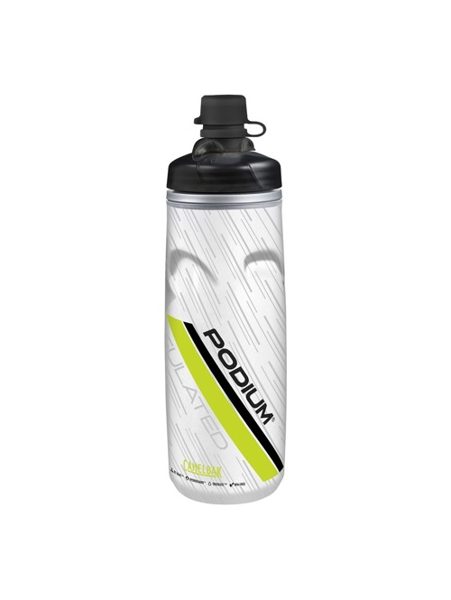 Láhev CamelBak Podium Chill Dirt Series lime 0,6 l