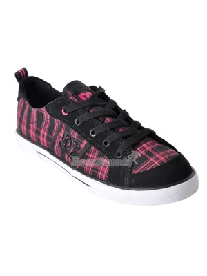 Boty DC Fiona black/plaid