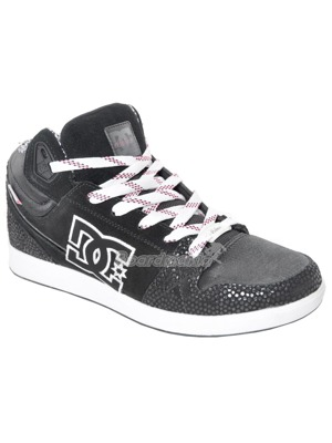 Boty DC University Mid black/white
