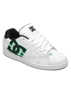 Boty DC Net white/emerald/black