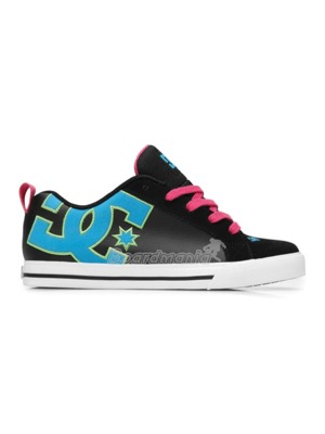 72562f7be24 Boty DC Court Graffik Vulc black turquoise soft lime. zoom in