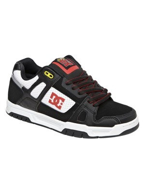 Boty DC Stag TP black/white/athletic red