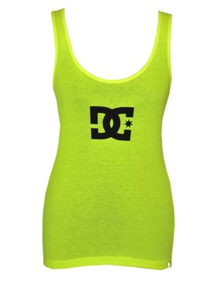 Dámské tílko DC Boy Beater Star Fluo safety yellow