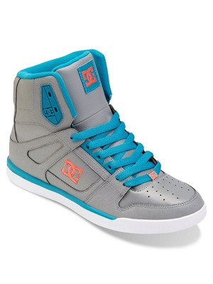 Boty DC Rebound Slim High grey