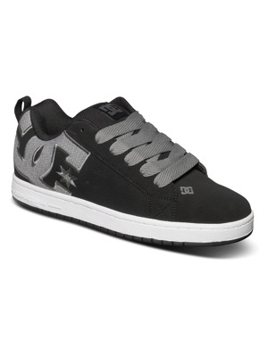 Boty DC Court Graffik Se black/ gun/ metal