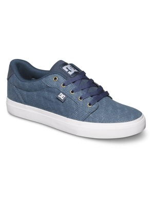 Boty DC Anvil Tx Se dark denim/ white