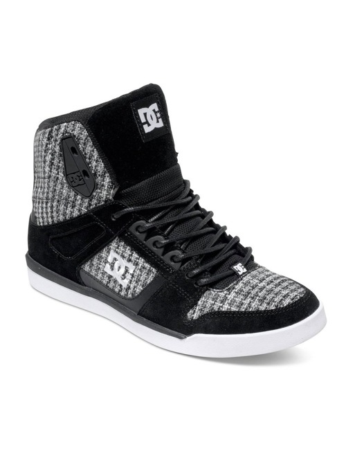 Boty DC Rebound Slim High Se black/ white
