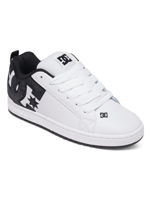 Boty DC Court Graffik Se white/ grey/ black
