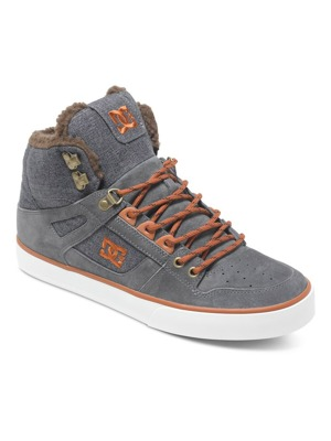 Boty DC Spartan High WC WNT grey/dark/red