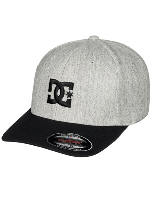 Kšiltovka DC Cap Star light grey heather