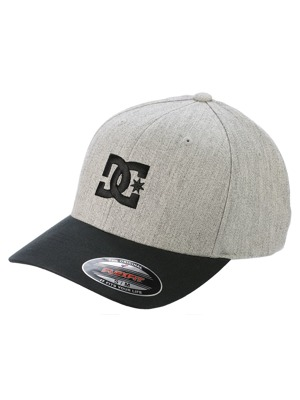 Kšiltovka DC Cap Star grey heather