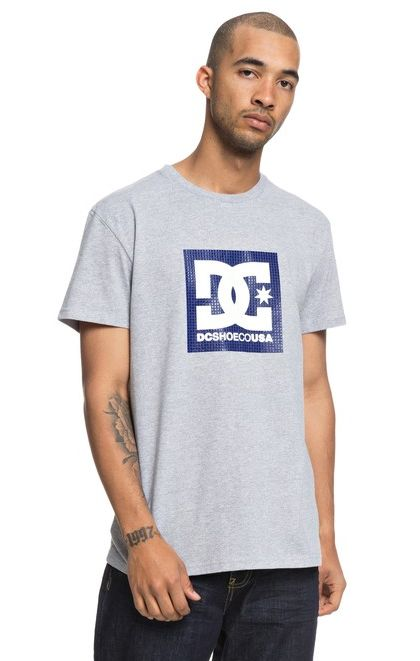 Tričko DC Pill Boxing grey heather