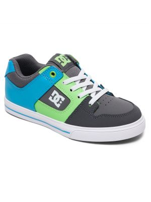 Boty DC Pure Elastic Boy Grey/Green/Blue
