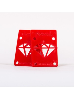 Podložky Diamond Rise & Shine Risers red  (2 ks)