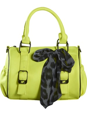 Kabelka Fox Clarity Duffle day glo yellow