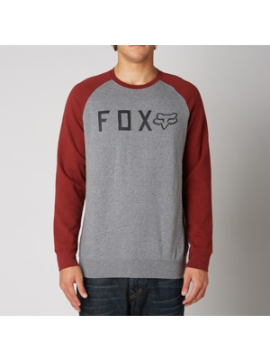 Pánská mikina Fox Tresspass Crew Fleece heather graphite