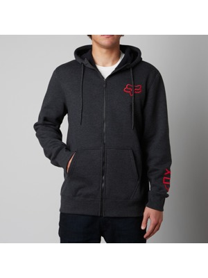 Pánská mikina Fox Bond Sherpa Zip Fleece heather black