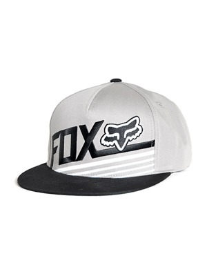 Kšiltovka Fox Become Snapback gray
