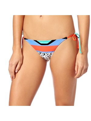 Dámské plavky Fox Stereo Side Tie Bottom flo orange