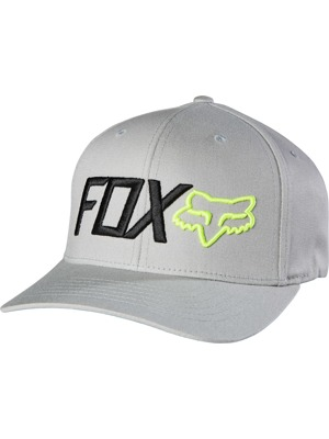 Kšiltovka Fox Scathe Flexfit grey