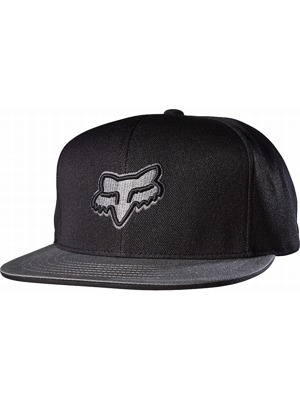 Kšiltovka Fox Slasher Head Snapback black
