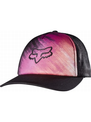 Kšiltovka Fox Hyped Trucker black