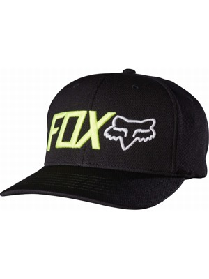 Kšiltovka Fox Trenches Flexfit black