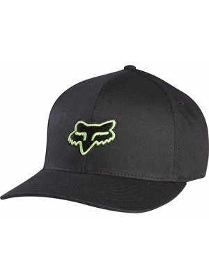 Kšiltovka Fox Legacy Flexfit Hat black/green