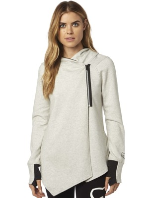 Dámská mikina Fox Contouration Zip light heather grey