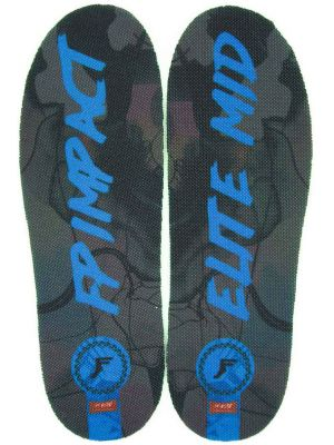 Vložky do bot Footprint Elite Mid black blue