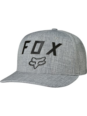 Kšiltovka Fox Number 2 heather grey