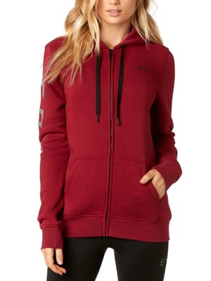 Dámská mikina Fox Affirmed Zip dark red