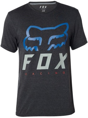 Pánské tričko Fox Heritage Forger Tech heather black